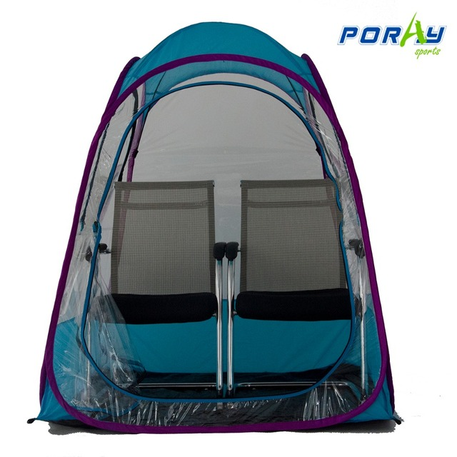 Poray under the Weather Sports Pod pop up transparent tent double persons and doule doors  sc 1 st  AliExpress.com & Poray under the Weather Sports Pod pop up transparent tent double ...