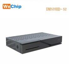 Wechip DM520 DVB-S2 Tuner Linux OS BCM73625 2000 DMIPS Prozessor CPU Satellite TV Receiver Full HD 1080p DM520HD H.265 Decoder