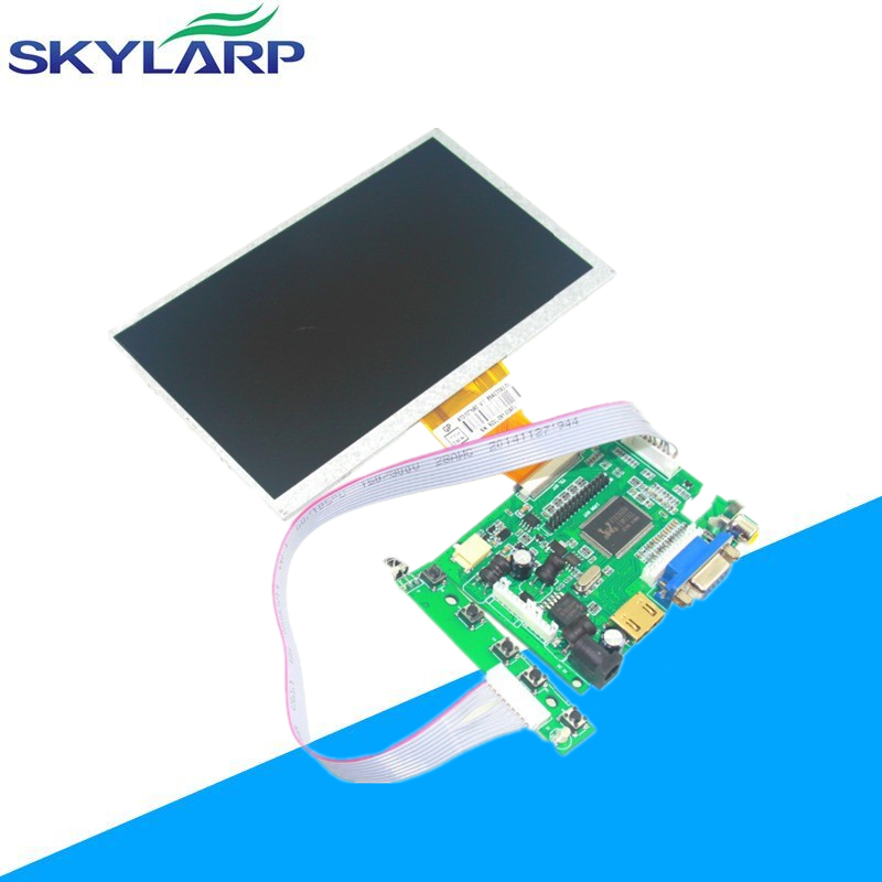 7 inch Raspberry Pi LCD With HDMI VGA AV Screen Display Monitor Module For Pcduino Banana Pi 800x480 with keyboard plate lp097qx2 sp av lcd display screens not suitable for ipad 5