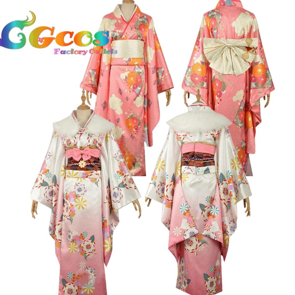 Здесь продается  Free Shipping Cosplay Costume Love Live Sunshine Sakurauchi Riko Ruby Kurosawa New Year Kimono Bathrobe Dress Anime  Одежда и аксессуары
