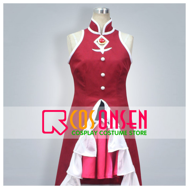 COSPLAYONSEN Puella Magi Madoka Magica Sakura Kyouko Cosplay Costume All Size Custom Made adult costume