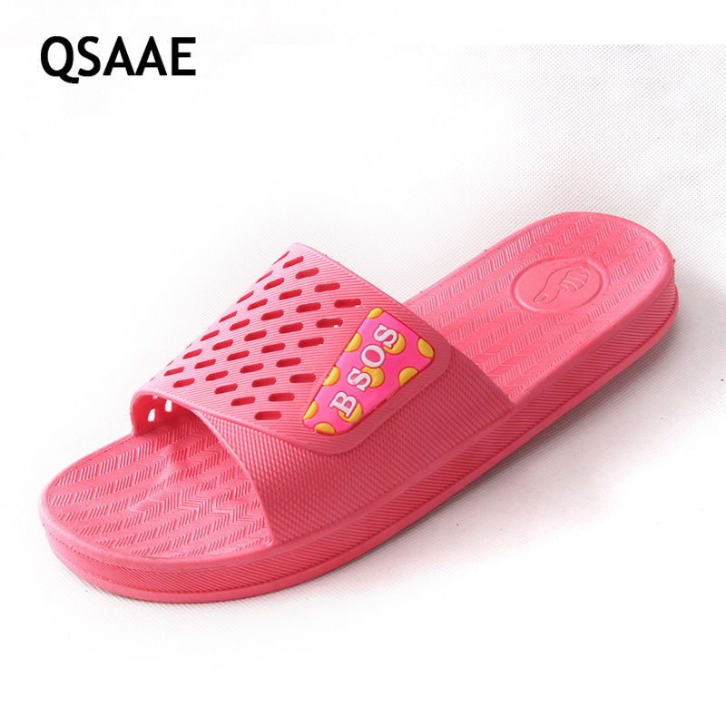 2017 Women Summer Sandals Beach Bathroom Platform Slippers Casual Shoes Female Fashion Home Interior Bathroom Flip Flops AF11 summer bathroom shower pvc women men slippers antiskid solid color couple flip flops indoor female male fashion shoes