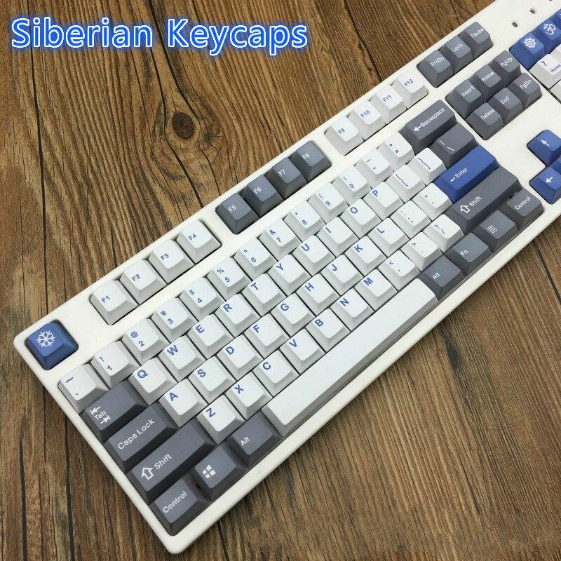 Siberian Keycaps surfaces Dye sub Keycap Cherry Profile PBT Cherry Profile Dye sub Pbt Keycaps Cherry