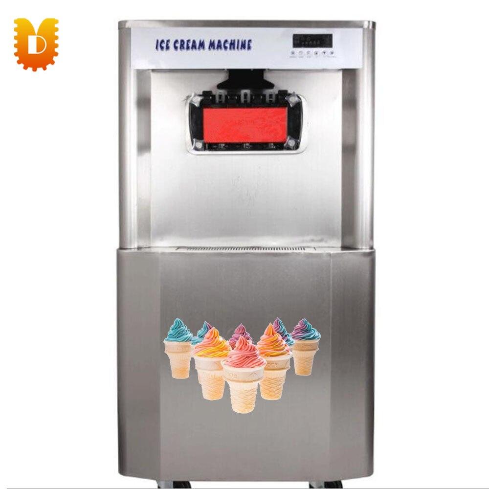 Service mou de Machine de crème glacée molle de Certification de la CE d'utilisation commerciale 68L/Machine de crème glacée