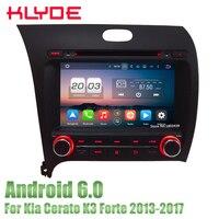 KLYDE автомобильный мультимедийный плеер dvd радио GPS плеер 8 Octa Core 4 GB Оперативная память 32 GB Встроенная память 3g/4G DAB для кіа Cerato K3 Форте 2013 2017