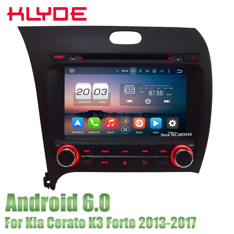цена KLYDE Car Multimedia Player DVD Radio GPS Player 8