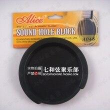 Schwarz 10-10,2 CM durchmesser gitarre schalloch block/feedback deckel/sourdine zu verhindern noise