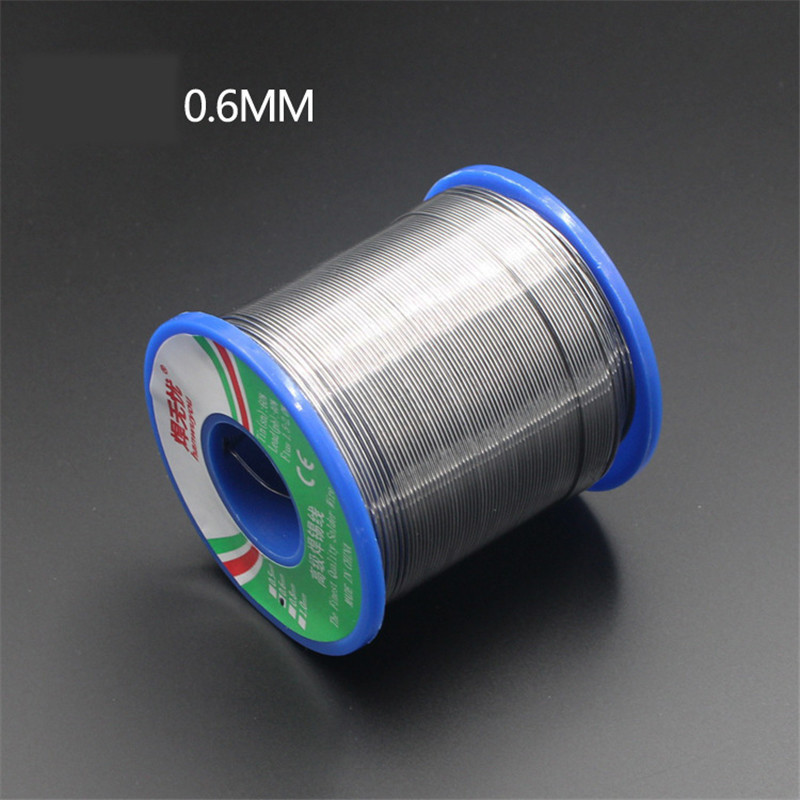 60/40 Solder Wire Rosin Core Tin Lead Solder Wire Soldering Welding Flux 1.5-2.0% Iron Wire Reel 50g 0.6mm