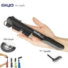 GIYO GP-04S 41S 42S 43S горный велосипед дорожный велосипедный насос барометр Манометр 100 фунтов/кв. дюйм высокое давление мини велосипедные воздушные насосы(A/V)(F/V