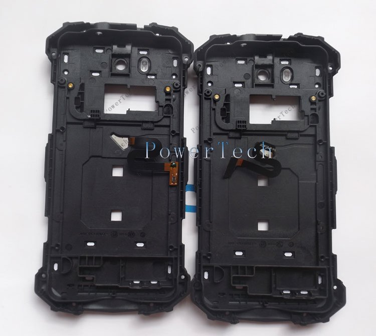 Image 3 - DOOGEE S60 Battery Door Cover Back Housing with Fingerprint  For DOOGEE S60 Cell Phone  Genuine Parthousing coverphone coverhousing s6 -