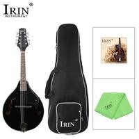 IRIN Sunburst 8 String Basswood Mandolin 2Color Rosewood Steel String Mandolin Stringed Instrument Adjustable Musical Instrument