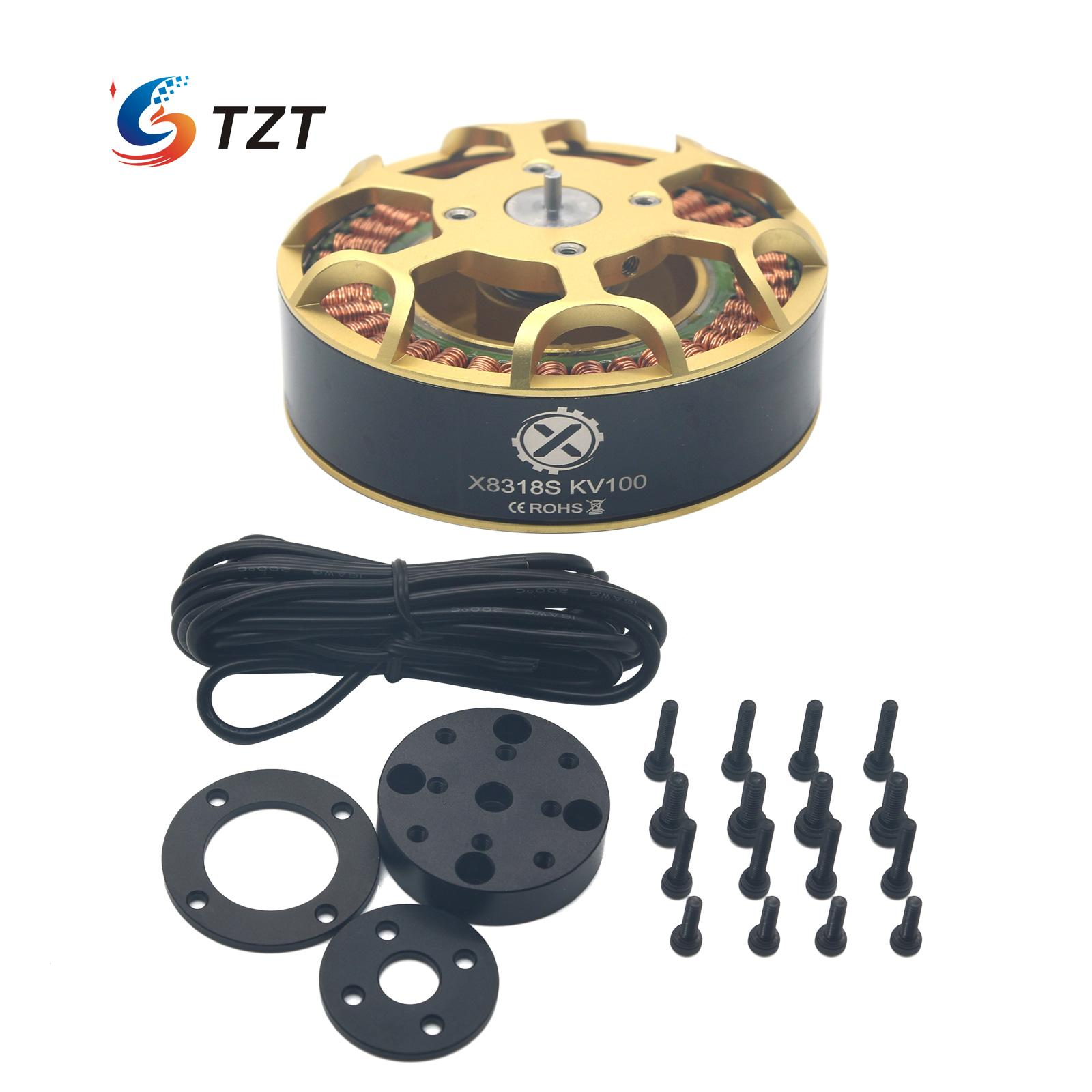 (hly) X8318s Brushless Motor Kv100 Kv120 Mehrachsige 36n40p Für Fpv Racing Drone Multicopter