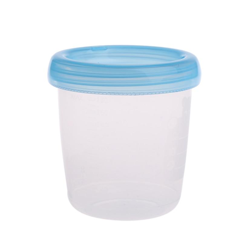 2017 Cute Bear Breast Milk Storage Bottle Collection Neck Wide Feeding Fresh Cup New 180ML JUN9_45