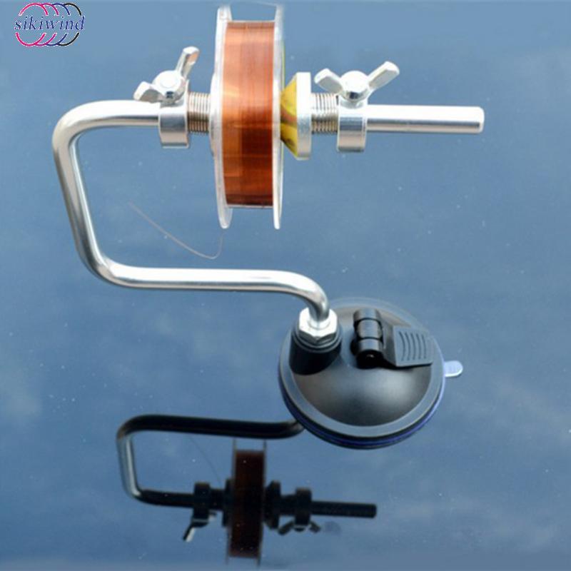 Aluminum Alloy Fishing Line Winder Reel Spool Spooler System