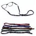 5 COLOR elástico antideslizante Gafas De Cable ajustable soporte del Cabezal de cordones cadena de gafas de Sol 0122