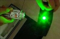 Militar 500000 m 532nm de alta Potência Ponteiro Laser Verde Lanterna Queima Foco Jogo, Queimar Cigarros, Balão Pop + caixa de presente
