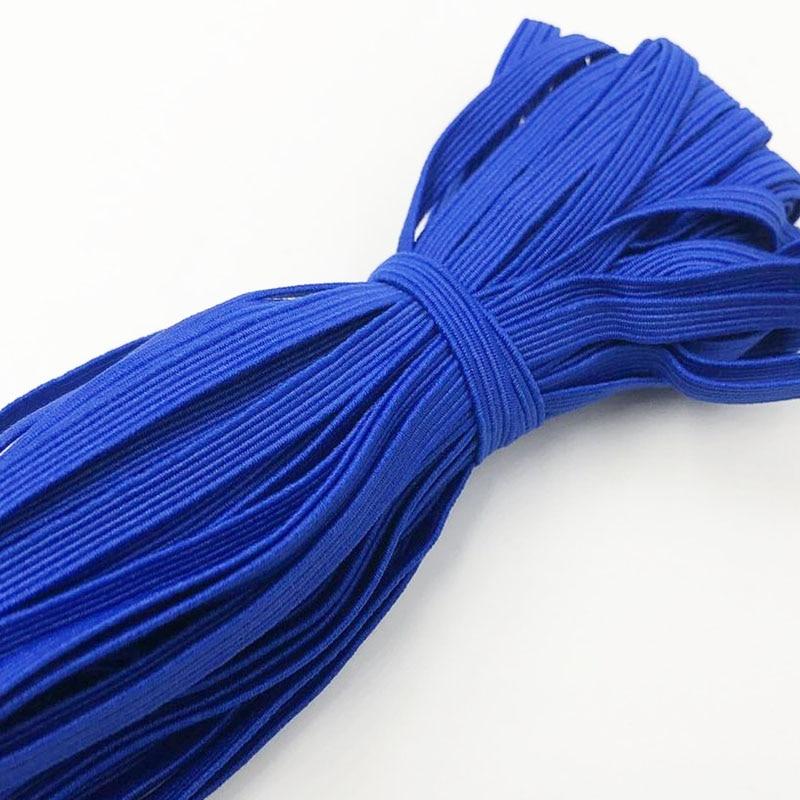 5 метров 6 мм белый/черный нейлон высшего резинки штаны швейные принадлежности cделай сам