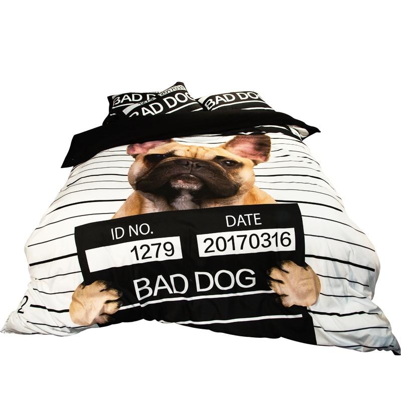 Dog Print Twin Bed Sheets