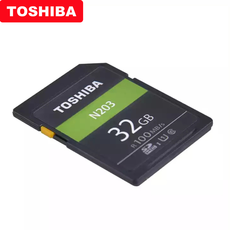 Image 3 - Original TOSHIBA  High Speed Memory SD N203 32G 64G 128G U1 SD Card Support Full HD Shooting for Canon Nikon Digital SLR Camera-in Memory Cards from Computer & Office