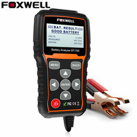 FOXWELL Car Truck Battery Tester 100 2000CCA Battery Load Tester 12V 24V Car Cranking And Charging