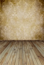 Laeacco Retro Pattern Paper Wooden Boards Wall Baby Portrait Scene Photography Background Photographic Backdrop For Photo Studio