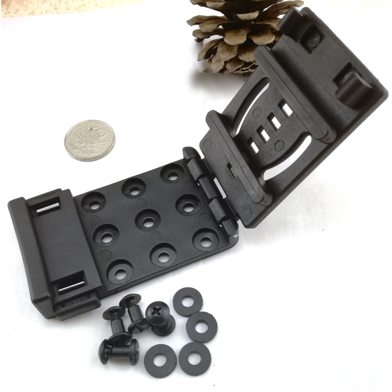Hq Serpa Cqc Black Mod-u-lok Belt Loop Platform With Screw For Knife Kydex Sheath Holster Diy Tool Easy To Use