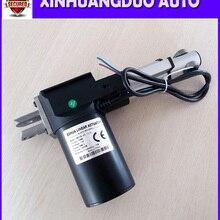 12 V/24 V 50 мм(2 дюйма) Линейный микропривод, электрический линейный привод, тяги 5000N/500 кг/1100LBS, Телевизор Лифт, индивидуальный штрих