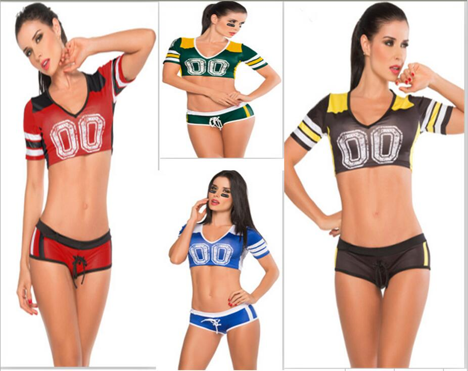 4 Color Fantasy Football Costume Soccer Baby Football Girl -4167