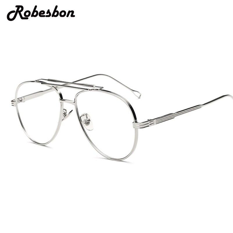 ba25147e45 2018 Men Brand Round Frame Alloy Optical Glasses Frames Women Classic Cool Eyeglasses  Frames Women Best Fashion Glasses-in Eyewear Frames from Apparel ...