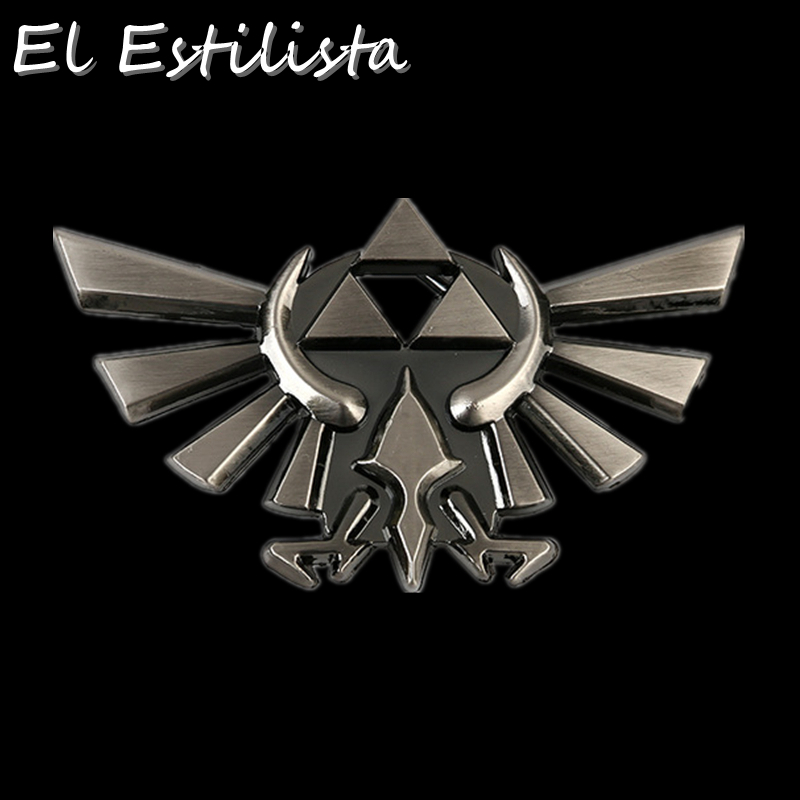 Buckles & Hooks The Legend Of Zelda Belt Buckle Mens Vintage Silver Bronze Metal Buckles Suit 4cm Belts Jeans Accessories Western Cowboy Fivela Apparel Sewing & Fabric