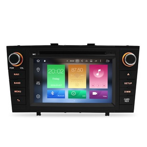 """Image 2 - 7"""" Android 10.0 Car Stereo Radio For Toyota T27 Avensis 2009 2014 2 Din DVD GPS Navigation Wifi FM DAB+Headunit Bluetooth 4G RAM"""