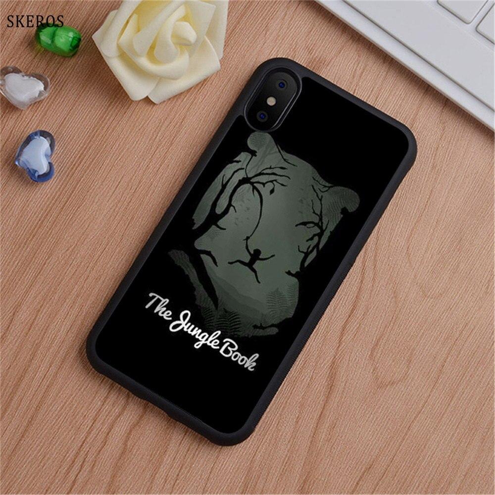 SKEROS The Jungle Book 5 (2) phone case for iphone X 4 4s 5 5s 6 6s 7 8 6 plus 6s plus 7 & 8 plus #B747