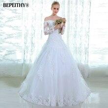 Популярное стильное белое кружевное свадебное платье, расшитое бисером, со шлейфом, сексуальное, с открытой спиной, на заказ, винтажные Свадебные платья, Vestido De Novia