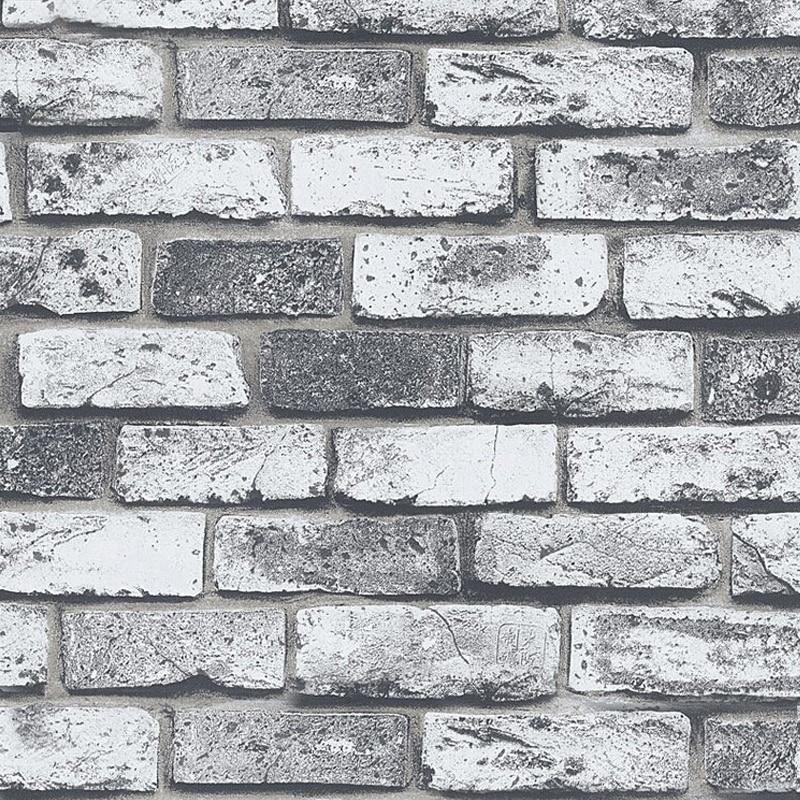 Modern Vintage Brick Stone Living Room Wallpaper 3D Embossed PVC Waterproof Vinyl Wall Paper Roll Papel De Parede Home Decor 10MModern Vintage Brick Stone Living Room Wallpaper 3D Embossed PVC Waterproof Vinyl Wall Paper Roll Papel De Parede Home Decor 10M