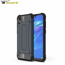 For Coque Huawei Honor 8S Case Y5 2019 Heavy Armor Slim Hard Rubber Tough Cover Silicone Phone Case for Huawei Honor 8S KSE-LX9 все цены