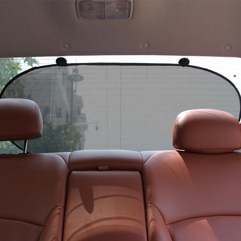 Back Block Of Black Yarn Car Window Sunshade Curtain Pare Soleil Voiture Enfant Shade Sun Blind Roller Blinds