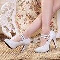 2017 sapatas do casamento das mulheres sapatos de salto alto sapatos de plataforma mulher bombas sy-1889