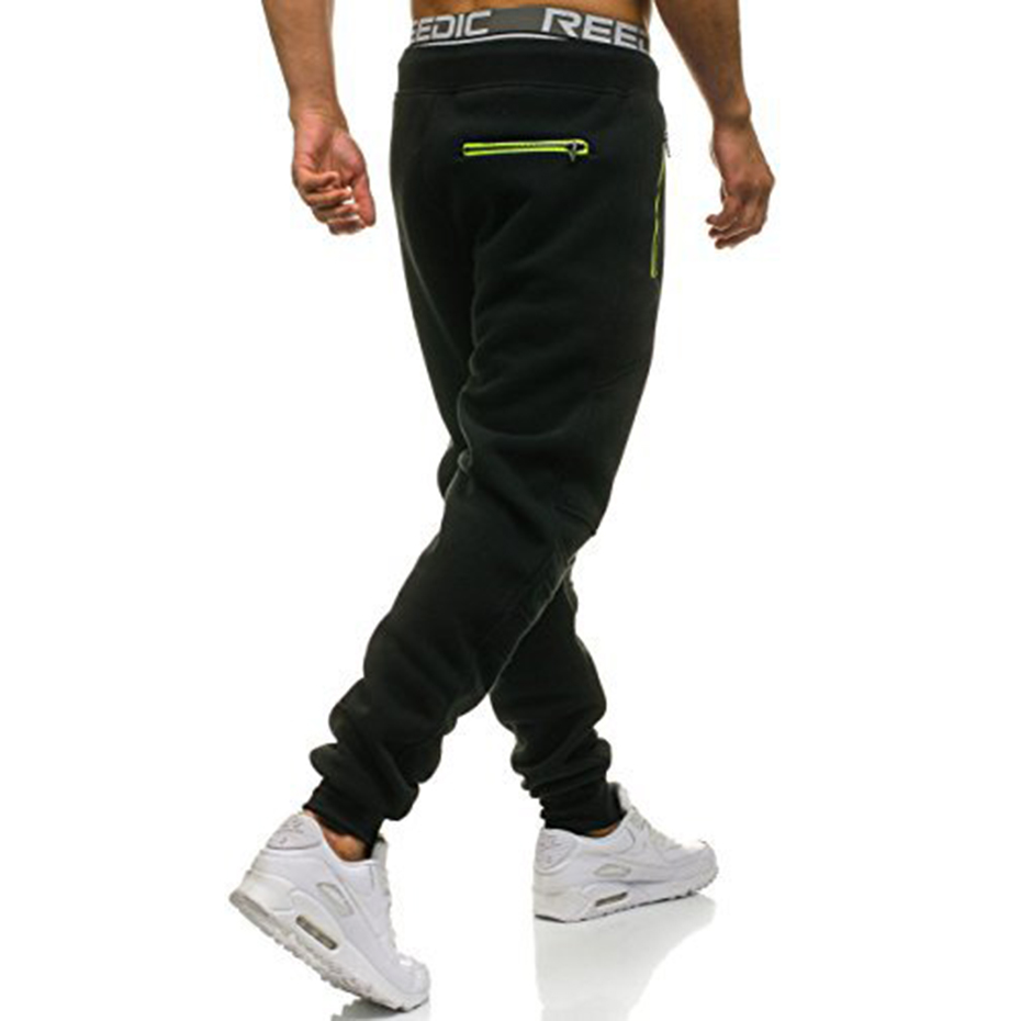 ZOGAA Running Pants Men Winter Jogging Pants Gym Basketball Sport Trousers Regular Long Active Wear Winter Loose Sweatpants