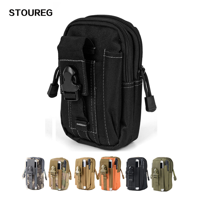 b372d0369e0f US $3.41 7% OFF|Tactical Bag Molle Pouch Belt Bag Men's Sport Military  Waist Pack Camping Hiking Climbing Phone Bag Outdoor EDC Pouch Bag-in  Climbing ...