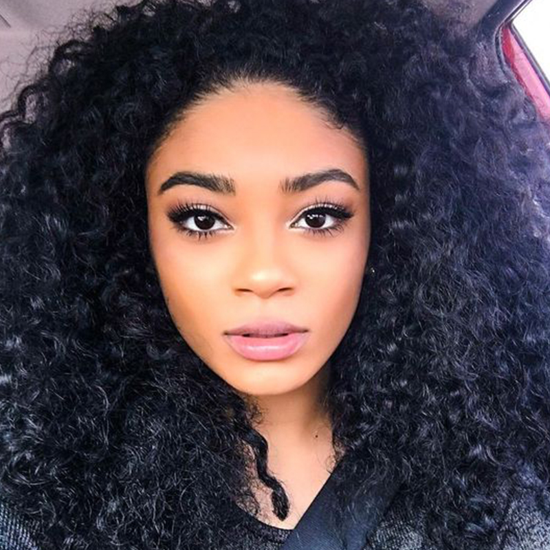 ФОТО 2016 Afro Medium Kinky Curly Lace Front Wig Synthetic Wigs Real Cheap Sexy Curly Full Wigs for Black Women Free Shipping
