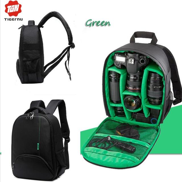6a0a9f46478 Tigernu waterdichte digitale dslr camera rugzak multifunctionele slr camera  tas voor fotograaf video case voor nikon