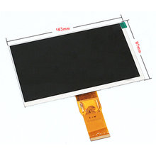 "New LCD display matrix 7"" Explay Hit 3G 50pin 103*97mm 1024*600 inner LCD Screen Panel Module Replacement Free Shipping"