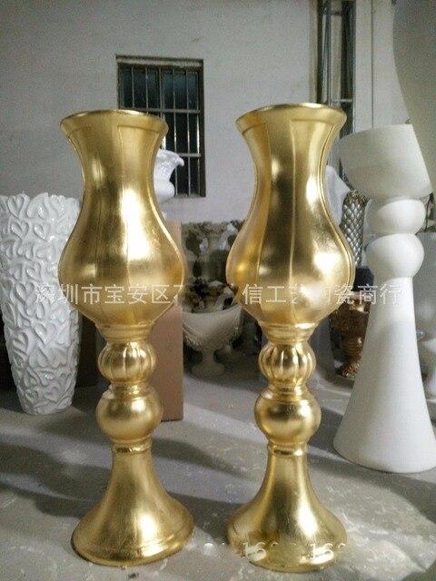 neuheit gold bodenvase der wohnzimmer hotel ktv dekorative große ... - Grose Vasen Fur Wohnzimmer