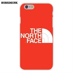 EJGROUP Soft Capa Cover Case The North Face Fashion Clothing Brand Logo For Apple iPhone 4 4S 5 5C SE 6 6S 7 8 Plus X