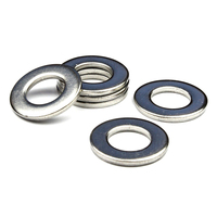 Stainless Steel Form A Flat Washers To Fit Metric Bolts Screws M27 28mm 50mm 4mm 10pcs