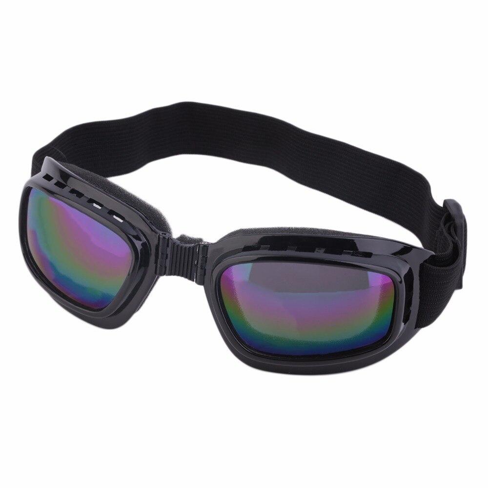 Unisex Occhiali Di Sicurezza Pieghevole Colorato Anti-abbagliamento Occhiali Da Sole Polarizzati Antivento Occhiali Anti Nebbia Sole Di Protezione Regolabile Cinghia Di Occhiali