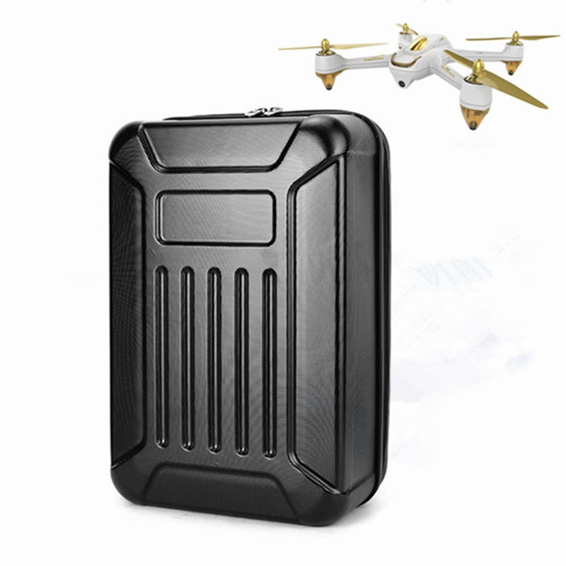Realacc Hard Shell Backpack Case Bag Camera Drone Bag Backpack RC Quadcopter Case Bag For Hubsan X4 H501S RC Quadcopter free for shipping black abs hard shell backpack case bag for hubsan x4 h501s quadcopter brand new high quality may 2