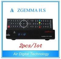 2 개/몫 전체 채널 소프트웨어 Zgemma H.S 위성 수신기