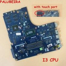 PALUBEIRA для Lenovo B50-70 Материнская плата ноутбука ZIWB2 ZIWB3 ZIWE1 LA-B091P материнская плата с I3 процессор и на ощупь порт