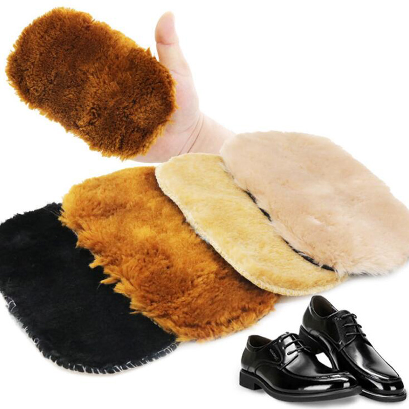 Shoe Cloth Polishing Soft Shoes Brush Shoes Breathable Leather Care Maintenance Tools Wipe